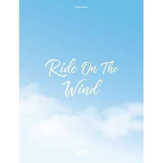 [PREORDER] KARD - 3rd Mini Album 'Ride on the Wind'