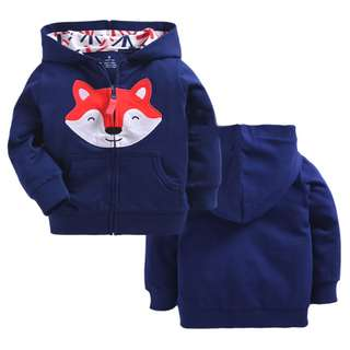 Kids' Blue Fox Sweater (9M,12M,18M,24M,3Y)