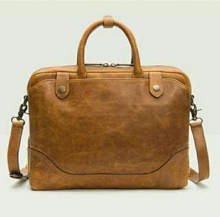 Tas Kulit Selempang Bags Laptop 14'n Casual Fashion WZ.019