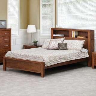 Quen Timber Bed