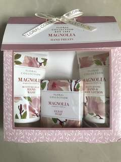 M&S floral hand treats