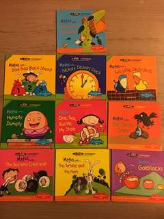 All Kids R Intelligent Maths with... set of 10
