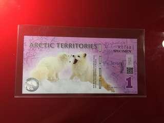 Arctic specimens one dollar