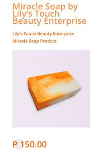 Miracle Soap by Lily's Touch