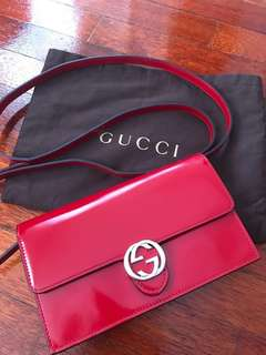 Authentic Gucci WOC Red