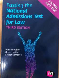 Passing the National Admissions Teat