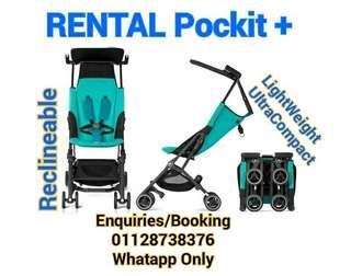Sewa stroller travel gb pockit plus & Pockit Plus Gold