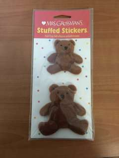 🚚 Mrs Grossman's Stuffed Stickers Bears