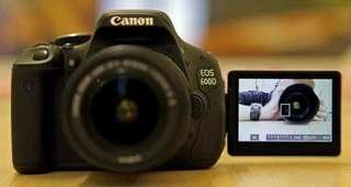 Canon 600D Bisa Di Cicil DP Murah