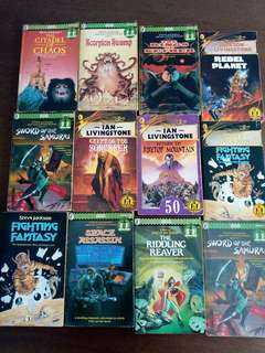 Fighting Fantasy Gamebooks