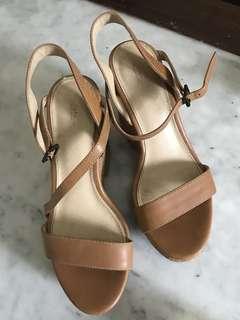 Wedges Zara brown