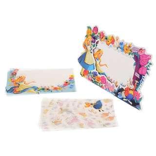 Japan Disneystore Disney Store Alice in Wonderland Memo Pad with Frame