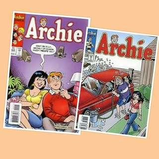 PDF: Archie Comics 555 & 558