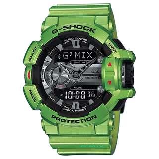 G-SHOCK G'MIX SERIES GBA-400-3B 綠色 GSHOCK GBA400 GMIX