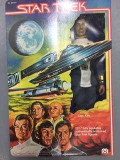 BNIB Rare Vintage 70s Authentic Mego Star Trek Wars Captain Kirk 12 inch