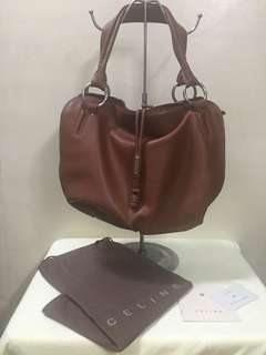 Auth Celine Leather Bag