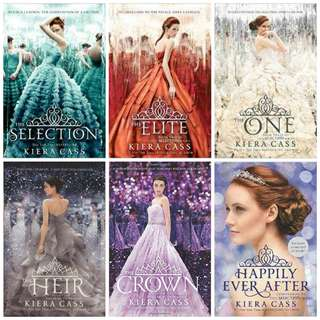 Ebook: The Selection Series by Kiera Cass