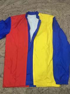 Classic Colors Jacket (red-yellow-blue)