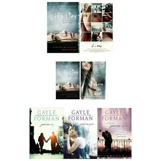Ebook: If I Stay & Just One More Day Trilogy by Gayle Forman