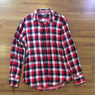 Pull and bear flannel shirt #july70