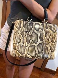 Dolce & Gabbana Python Bag