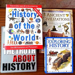 4 for $20: Ancient Civilizations; The Truth About History, Exploring History; History of the World