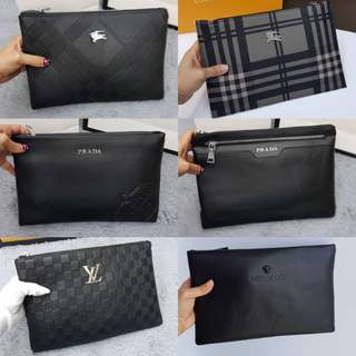 LV Gucci Versace Blueberry Clutch