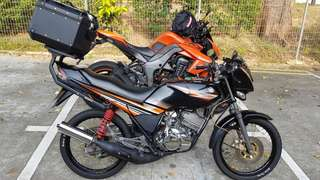 Yamaha Rxz class 2B