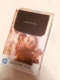 HP Sprocket Plus Black Original(SEALED)
