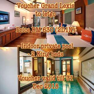 Voucher Grand Lexis PD