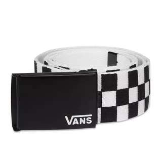 Ikat pinggang Vans deppster li web b belt white checkerboard original