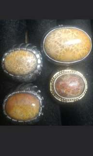 Lotus / Teratai stone (free gift Akar Bahar Ring for every transaction As long as there is still )