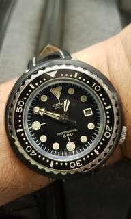 Vintage Seiko 6159 7010 'Grandfather' Tuna divers' watch