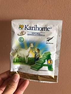Karihome goat milk