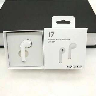 I7 藍芽耳機Airpods
