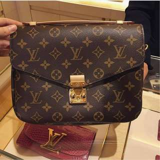 Brand New Louis Vuitton Monogram Metis Pochette (HIGHLY SOUGHT AFTER)