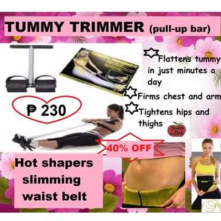 TUMMY TRIMMER WITH FREE HOT BELT SHAPER