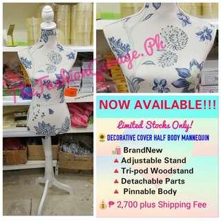 Decorative Cover Half Body Mannequin