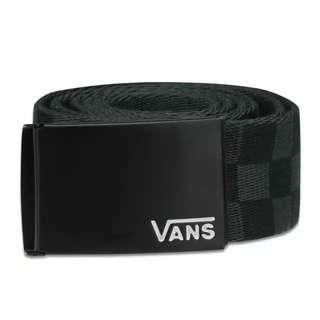 Ikat pinggang Vans deppster li web b belt black checkerboard original