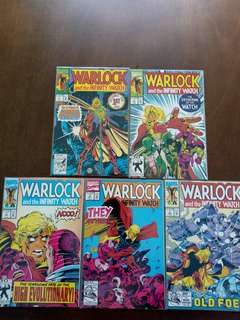 Warlock and the Infinity Watch Issue 1 to 5 - Marvel Comics