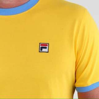 Fila Vintage Tee double Ring size M