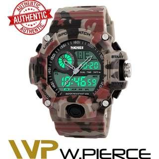 Skmei WP1029 W.Pierce Shock Men Sports Watches LED Digital Watch Fashion Brand Outdoor 50M Waterproof Wristwatch Military Relogio Masculino 1029 Casio,Zoo York,Timex,Time Depot,Mossimo,G-Shock,Gshock