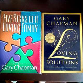 2 Gary chapman Bks : Loving Solutions : Overcoming Barriers in Your Marriage