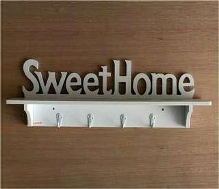 Rak Gantungan Dinding Sweet Home