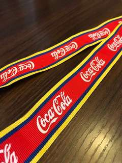 韓國特別版可口可樂掛頸繩扣 Coca Cola