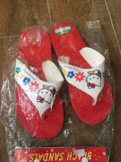 絕版 Hello Kitty 人字拖鞋