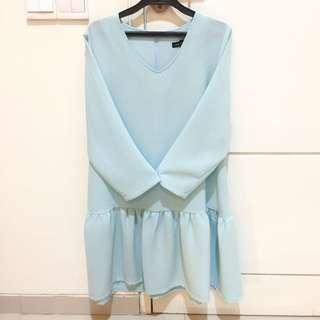 Look Boutique Store Blue Dress