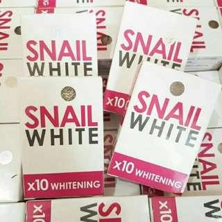 ORIGINAL snail white soap 10x whitening cost