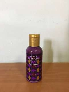 🚚 Innisfree cotton flower body lotion