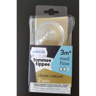 TOMMEE TIPPEE 3month+ Med Flow